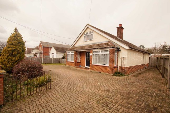Thumbnail Bungalow for sale in Bramfield, Clacton Road, Elmstead Market, Colchester