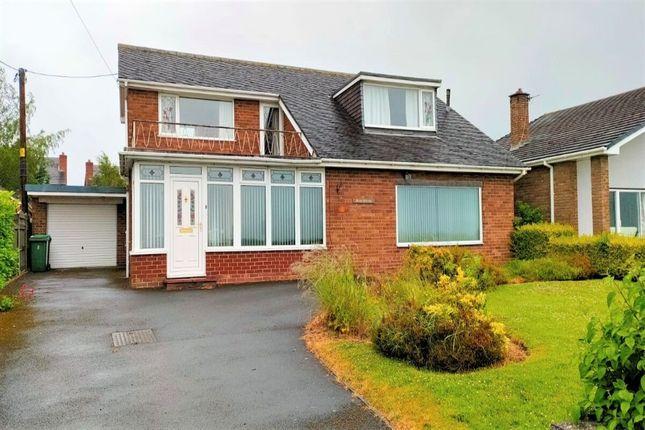 Thumbnail Detached house for sale in Penygelli Road, Coedpoeth, Wrexham