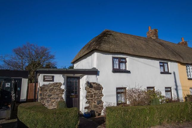 Thumbnail Cottage for sale in Woodland Head, Yeoford, Crediton