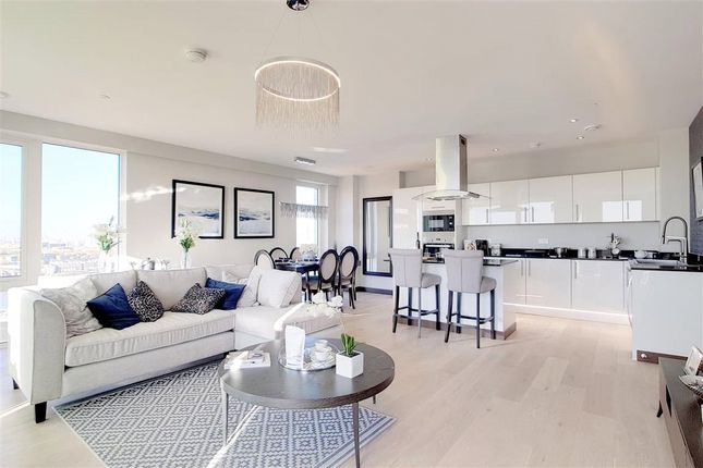 Thumbnail Flat for sale in Telcon Way, Greenwich, London