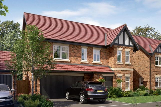 "Thumbnail Detached house for sale in ""The Cotham"" at Wingfield Road, Alfreton"