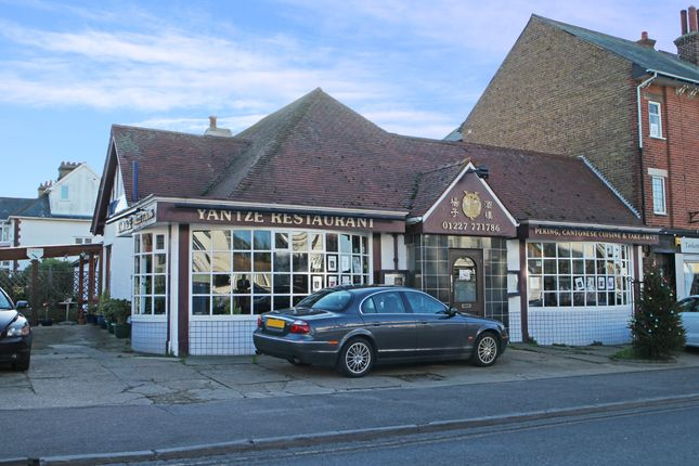 Thumbnail Leisure/hospitality for sale in Tankerton Road, Tankerton