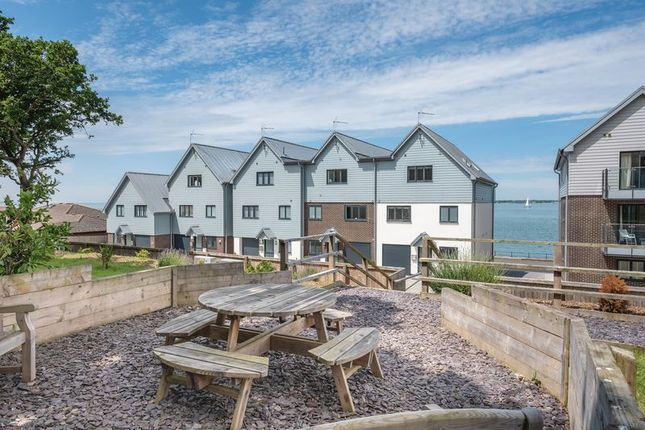 Thumbnail Town house for sale in Solent Shores, Gurnard, Isle Of Wight