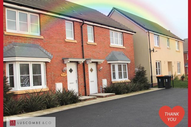 Thumbnail Semi-detached house to rent in Maplewood, Langstone, Newport