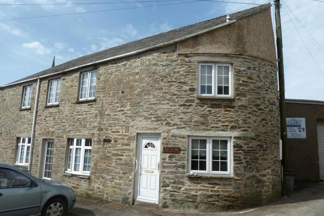 Thumbnail Flat to rent in Menheniot, Liskeard, Cornwall