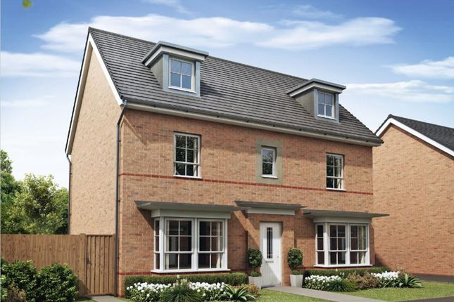 "Thumbnail Detached house for sale in ""Malvern"" at Howes Drive, Marston Moretaine, Bedford"