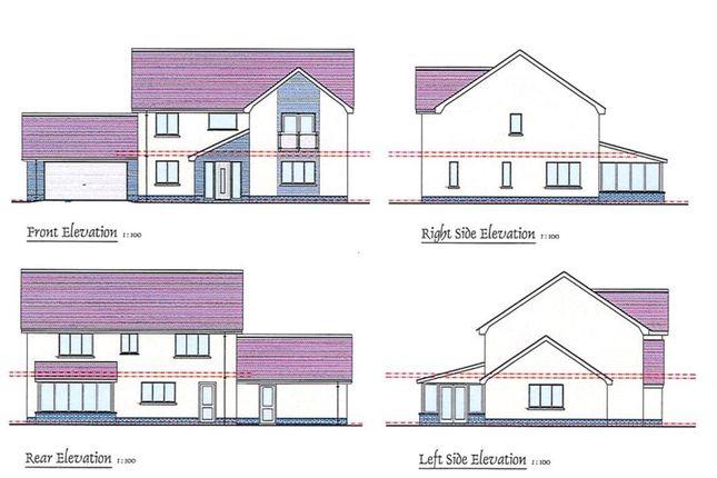 Thumbnail Detached house for sale in Bro Gwynfaen, Croeslan, Llandysul