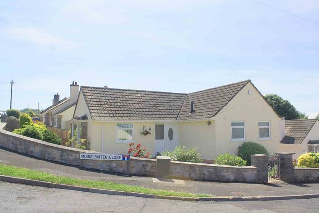 Thumbnail Detached bungalow for sale in Mount Batten Close, Plymstock, Plymouth