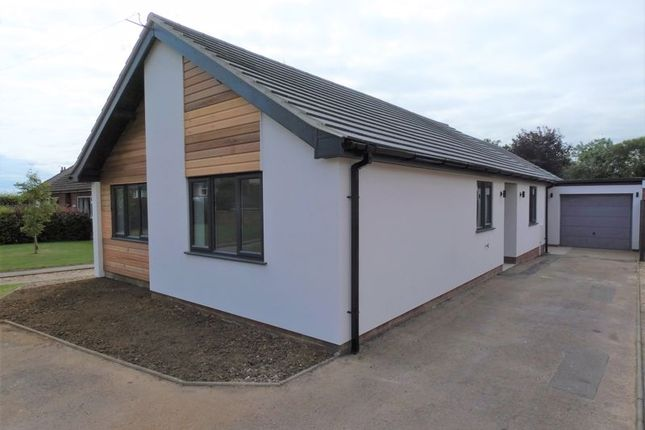 Thumbnail Detached bungalow for sale in Washingborough Road, Heighington, Lincoln