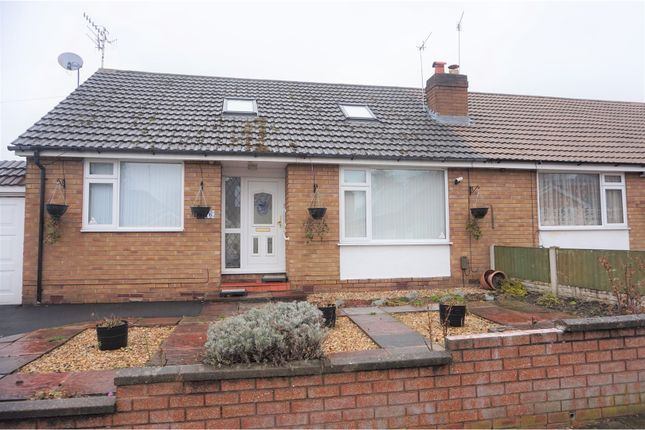 Thumbnail Semi-detached bungalow for sale in South Road, Prenton
