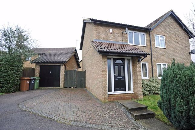 Thumbnail Semi-detached house to rent in Chatsworth Drive, Wellingborough