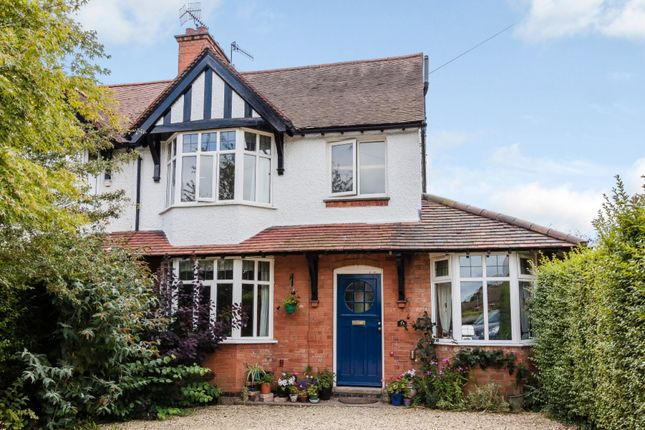 Thumbnail Semi-detached house for sale in Evesham Road, Stratford-Upon-Avon, Warwickshire