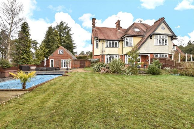 Thumbnail Property for sale in Pinemount Road, Camberley, Surrey