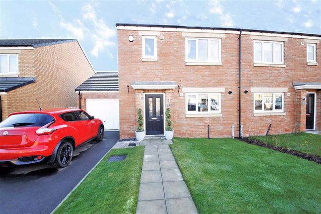 Thumbnail Semi-detached house for sale in Hurdwick, Doxford, Sunderland