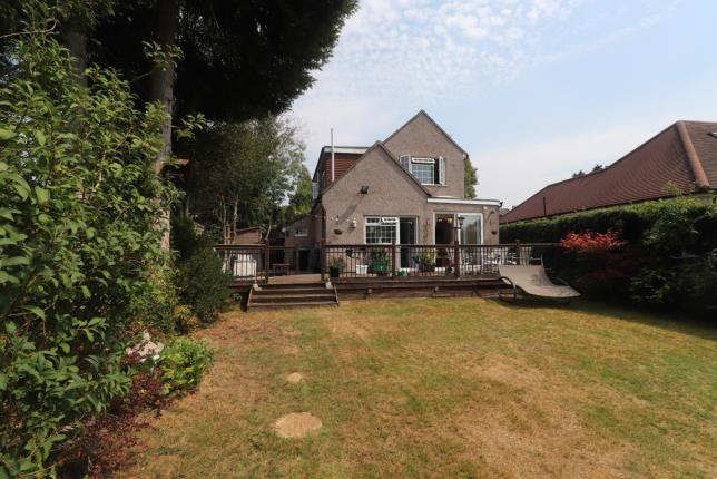 Rear View of Buxton Lane, Caterham, Surrey, . CR3