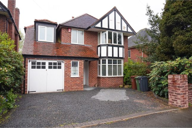 Thumbnail Detached house for sale in Boscobel Road, Walsall