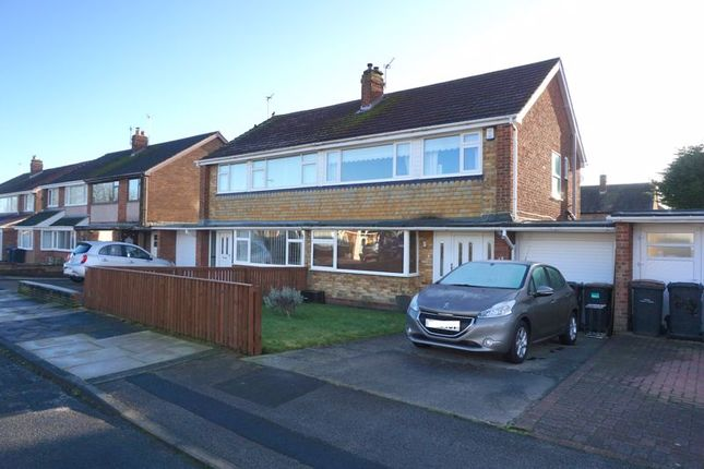 Thumbnail Semi-detached house for sale in Tintagel, Great Lumley, Chester Le Street