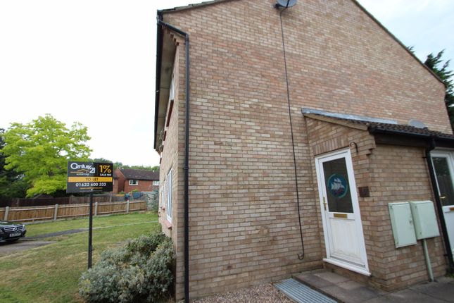 Thumbnail End terrace house to rent in Gassons Road, Snodland, Kent