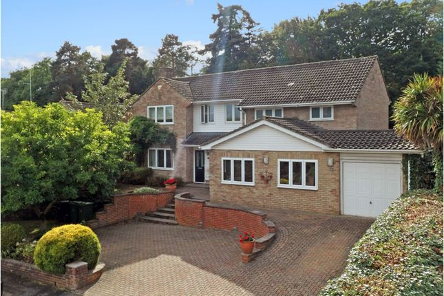 Thumbnail Detached house for sale in Elsenwood Crescent, Camberley