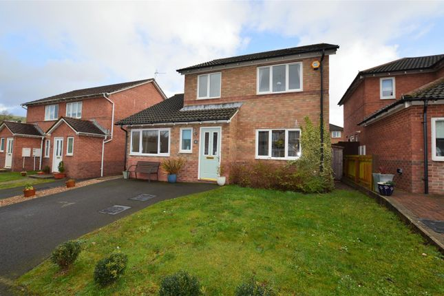 Thumbnail Detached house for sale in Poets Way, Llanharan, Pontyclun