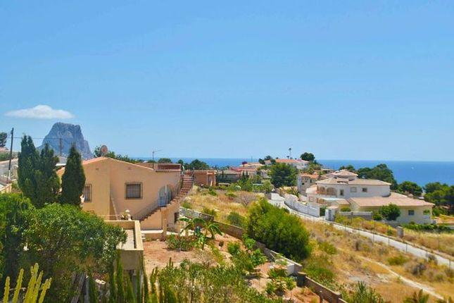 Villa for sale in Spain, Valencia, Alicante, Calpe