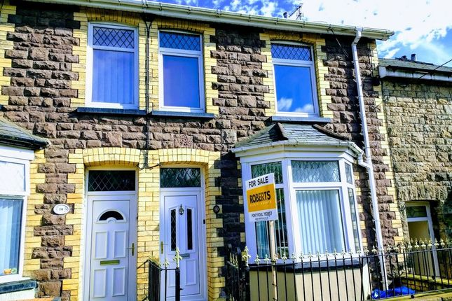 Thumbnail Terraced house for sale in Ton Mawr Road, Blaenavon, Pontypool