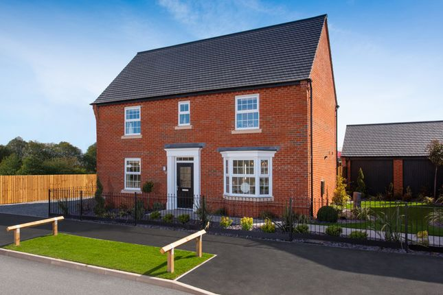 "Thumbnail Detached house for sale in ""Layton"" at Callow Hill Way, Littleover, Derby"