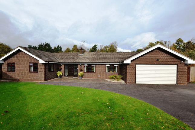 Thumbnail Detached bungalow for sale in Wren View, Loggerheads, Market Drayton
