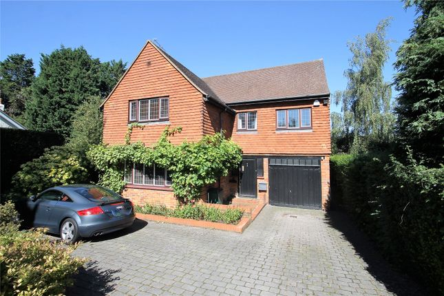 Thumbnail Detached house for sale in Godstone Road, Oxted
