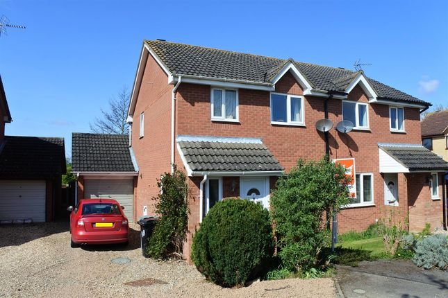 Thumbnail Semi-detached house for sale in Meadowbrook, Ancaster, Grantham