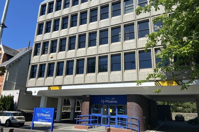 Thumbnail Office to let in Suite 2, Floor Phoenix House, Cathedral Road, Cardiff