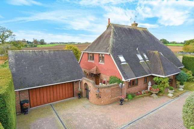 Thumbnail Detached house for sale in Ninn Lane, Great Chart, Ashford