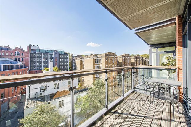 Balcony View of Hepworth Court, Grosvenor Waterside, 30 Gatliff Road, Chelsea, London SW1W