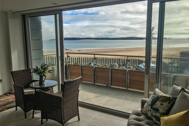 Thumbnail Flat for sale in Apartment 13 (Show Apartment), Waters Edge, Battery Road, Tenby