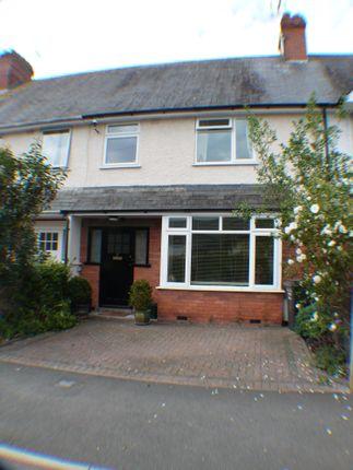 Thumbnail Terraced house for sale in Cranmer Road, Taunton, Taunton