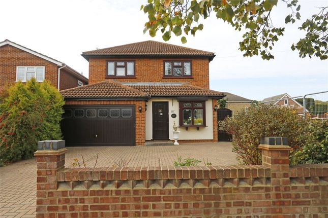 Thumbnail Detached house for sale in Western Road, Daws Heath, Hadleigh