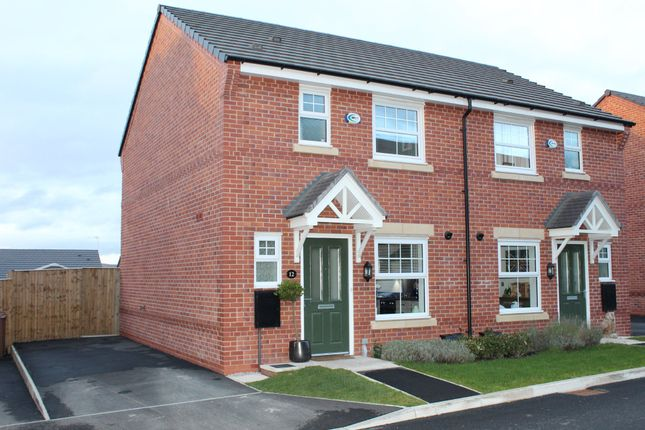Thumbnail Semi-detached house for sale in Dairy House Close, Burnage, Rochdale