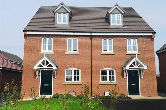 "Thumbnail Semi-detached house for sale in ""Rushwick"" at Europa Way, Warwick"