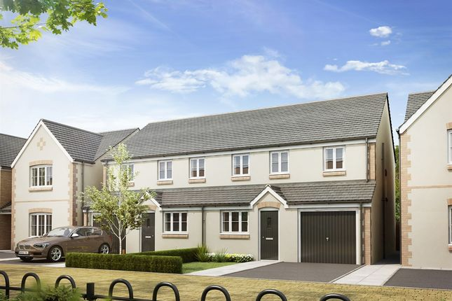 """Thumbnail Semi-detached house for sale in """"The Stafford """" at Thame Park Road, Thame"""