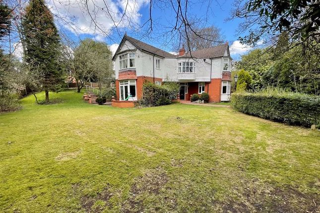 Thumbnail Detached house for sale in New Hall Road, Broughton Park, Salford