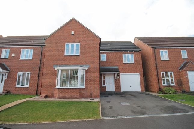 Thumbnail Detached house for sale in Chancel Drive, Market Drayton