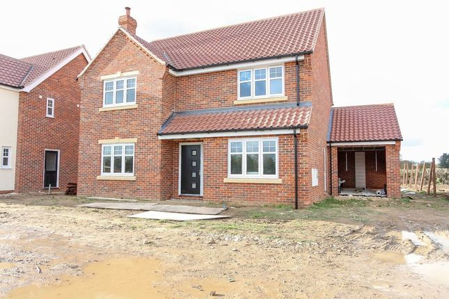 Thumbnail Detached house for sale in Woodbastwick Road, Blofield, Norwich
