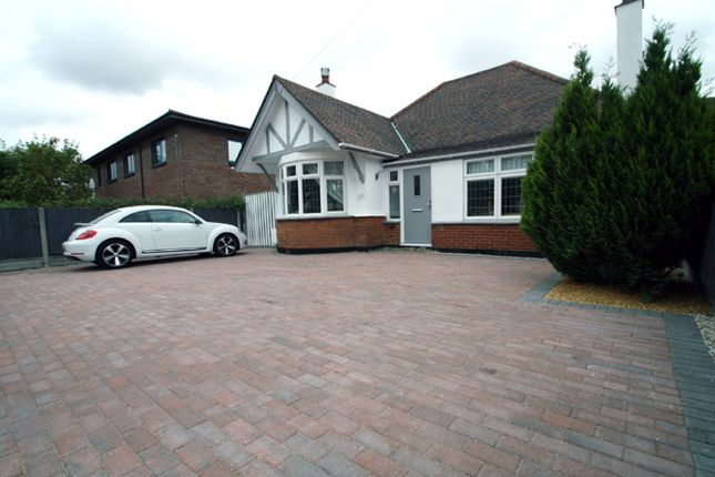 Thumbnail Detached bungalow for sale in Hobleythick Lane, Westcliff-On-Sea