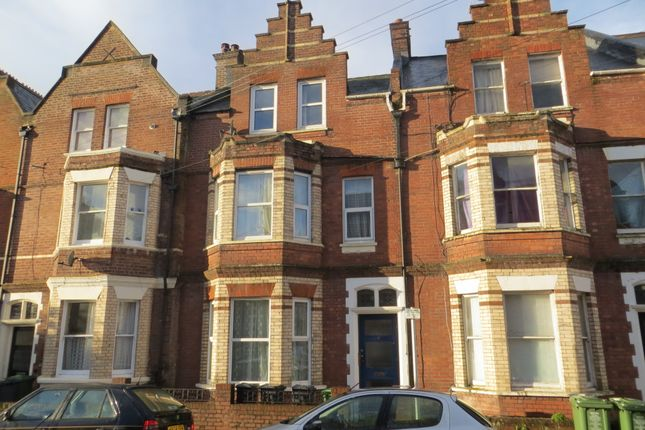 Thumbnail Town house to rent in Haldon Road, Exeter