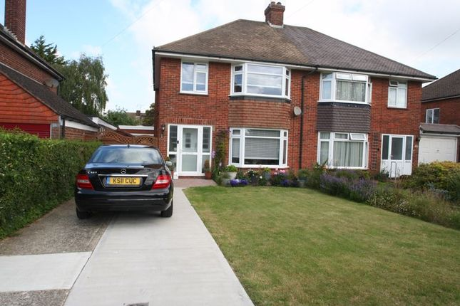 Thumbnail Semi-detached house to rent in Strand Parade, The Strand, Goring-By-Sea, Worthing