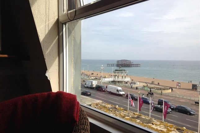 Thumbnail Flat to rent in Kings Road, Brighton, East Sussex