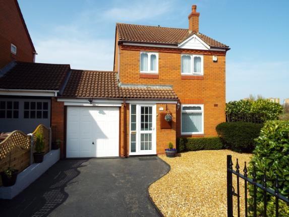 Thumbnail Link-detached house for sale in Lark Meadow Drive, Kingshurst, Birmingham, .