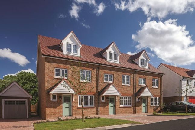 Thumbnail Terraced house for sale in St Andrews Park, Rochester Road, Halling, Kent
