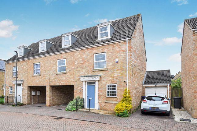 Thumbnail Semi-detached house for sale in Robertson Way, Sapley, Huntingdon