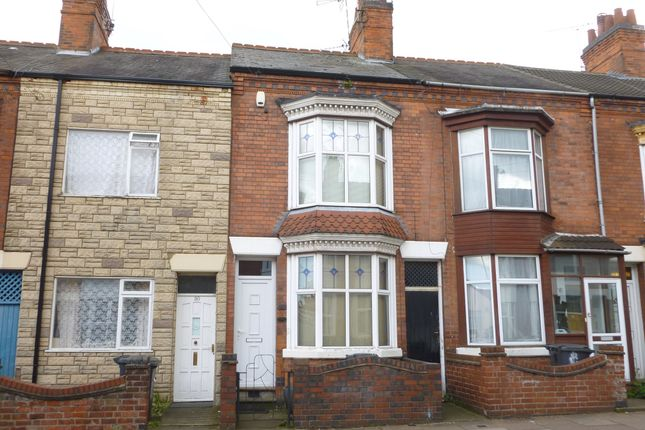 Terraced house to rent in Wilberforce Road, West End, Leicester